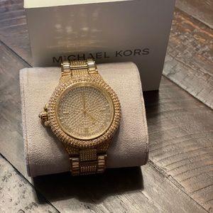 Beautiful Gold Michael Kors Camille Watch